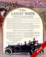 WHITE CAR MOTORS CO CLASSIC AMERICAN MADE CARS PAINTING VINTAGE AD ART PRINT