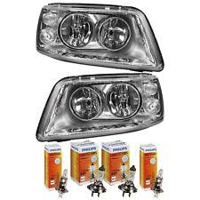 Headlight Set VW T5/Multivan/Caravelle H7 +H1 +Motor+Philips Built 04.03-09.09