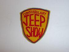 b7608 Post WW 2 US Army Constabulary Jeep Show R8D
