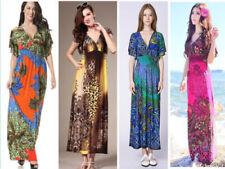 Regular Size Animal Print Summer/Beach Dresses for Women