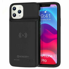 Qi Wireless 4800mAh Power Bank Pack Extern Battery Charger Case For iPhone 11Pro