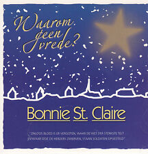 Bonnie St Claire-Waarom Geen Vrede cd single