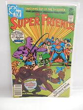 Super Friends Dc Comic Book #6 Superman Batman Atom Aquaman Wonder Woman Robin