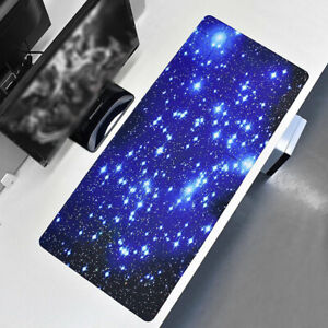 Extended Gaming Long Mouse Mat Galaxy Oversized Pad Large Big Anti Slip 90x40cm