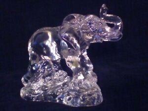 Princess House Crystal Wonders of The Wild: Elephant