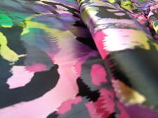 Italian Silk Devore 100%, 'Anna', (per metre) dress fabric, scarves, tunic