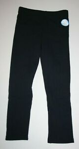 New Carter's Girls 5T Black Leggings Fleece Lining Cozy Warm Soft Pants