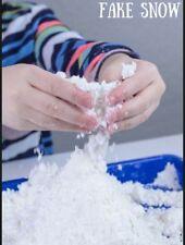 SNOW POWDER INSTANT FAKE SNOW 3kg KIDS PLAY DECORATION DISPLAY ARTIFICIAL SNOW