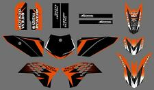New Graphics Decals For KTM SX50 SX 50CC 50 KTM50 2009 2010 2011 2012 2013 14 15