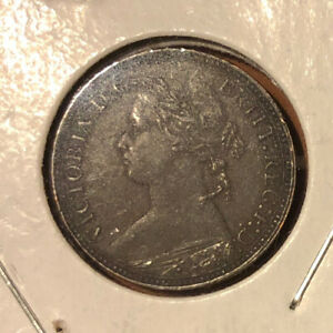 1875-H Great Britain Farthing Collectible Coin~ KM# 753-Combined S&H