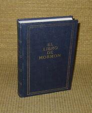 Book of Mormon | 1980 El Libro De - Spanish CUSTOM BOUND Hardcover NICE