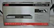 Jvc Xv-Y430B All Region Code Free Hdmi Dvd Player 5.1 Channel Usb Pal Ntsc New