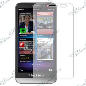 Lot Pack Accessoires Pour Blackberry Z30 Films Protection Cristal Transparent
