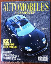 Automobiles Classique n°115; Spyker C8/ BMW F2 à l'essai/ Porsche 550 A Spyder R