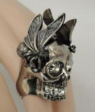 Alexander McQueen McQ Large Skull Punk Ring sz 11 - BOXED & Authentic