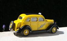 REXTOYS 1:43 DIE CAST FORD 1935 TOURING SEDAN YELLOW CAB TAXI GIALLO ART 50A