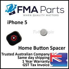 iPhone 5 OEM Home Button Key Switch Spacer Iron Silver Circle Shim Replacement