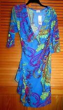 "Jon & Anna New York 3/4 sleeve Dress size small L 34"" NWT Estate Find"