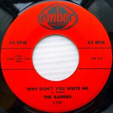 BARRIES doowop Ember REISSUE 45 Why Don't You Write Me M— b/w Mary-Ann VG++ FM23