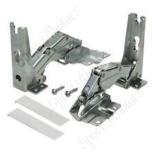 2 Hinges For Bosch Neff Siemens Fridge Freezer Top and Bottom Left or Right side