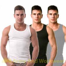 Magliette da uomo basici senza marca senza maniche