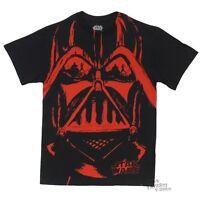 Star Wars Darth Vader Dueling Reflection Licensed Adult T-Shirt