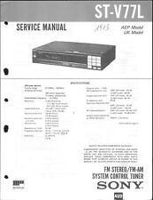 Sony original service manual pour st-v 77l