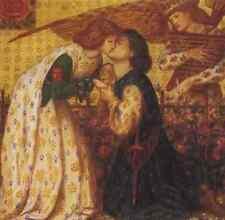 Rossetti Dante Gabriel roman de la Rose A4