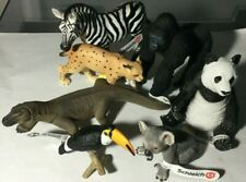 7 SCHLEICH WILD ANIMALS - BRAND NEW WITH TAGS ATTACHED