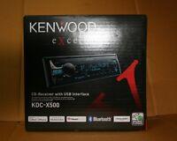 KENWOOD EXCELON KDC-X500 AM/FM,CD,MP3,BLUETOOTH BRAND NEW
