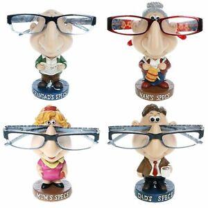 Novelty Comic Specs Glass Holder Dad Grandad Nan Mum Reading Glasses Stand Gift