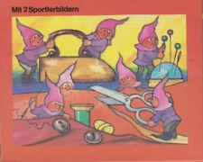 DDR Annaberger Puzzle Heinzelmännchen schneidern 24 Teile ABSOLUTE RARITÄT RAR