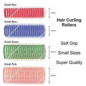 SELF CLING GRIP Hair Rollers ALL SMALL SIZES Stocked Choice of Size / Colour
