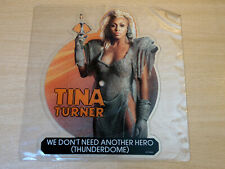 """EX !! Tina Turner/We Don't Need Another Hero/1985 Shaped Picture Disc 7"""" Single"""