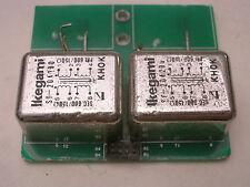 2 x Ikegami Audio Transformer 600ΩCT : 600ΩCT Made by Tamura TAMRADIO
