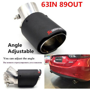 universal car Tail pipes Angle Adjustable end Pipes Stainless steel Accessories