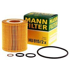 Mann Filter Hu815/2x Ölfilter für BMW 1er 3er 5er X1 X3 Z4 E46 E60 E92 Öl Filter