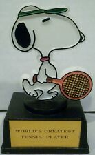 Aviva Peanuts Snoopy World's Greatest Tennis Player Trophy
