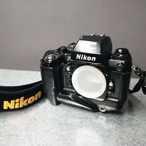 Nikon F4 35mm film camera + MB 21