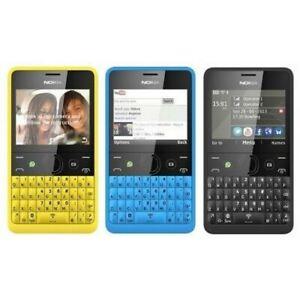 Nokia Asha 210 Unlocked Mobile Phone Watsapp Facebook Qwerty single or BOX PACK