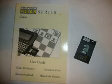 Chess Software for Psion Series 3 PDAs with User Guide