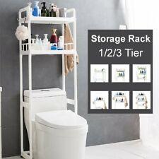 1-3 Tier Over The Toilet Storage Rack Shelf Bathroom Space Saver Towel Organizer