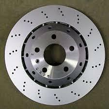 GENUINE Audi RS4 B7 Rear Brake Discs - 8E0615601AB/8E0615602D