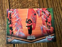 Baltimore Orioles 2018 Topps Opening Day Opening Day at the Ballpark Insert