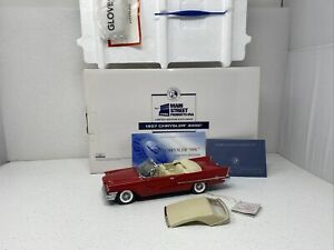 1/24 Franklin Mint 1957 Chrysler 300C convertible Limited 500 Red # S11E129