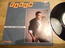 FALCO ROCK ME AMADEUS / URBAN TROPICAL NCB MEGA Records DENMARK DIFFERENT COVER*