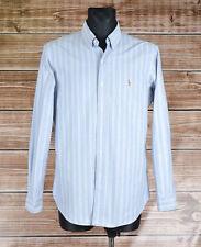 Ralph Lauren Custom Fit Men Multicolored Shirt Size L, Genuine