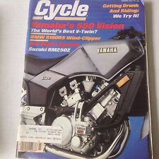 Cycle Magazine Yamaha 550 Vision BMW R100RS March 1982 061717nonrh2
