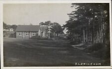 Aldringham near Leiston. ? School & Flag Pole.
