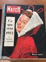 Très Gros Ensemble De Paris-Match + De  100 Classeurs Depuis La Quatrième Année